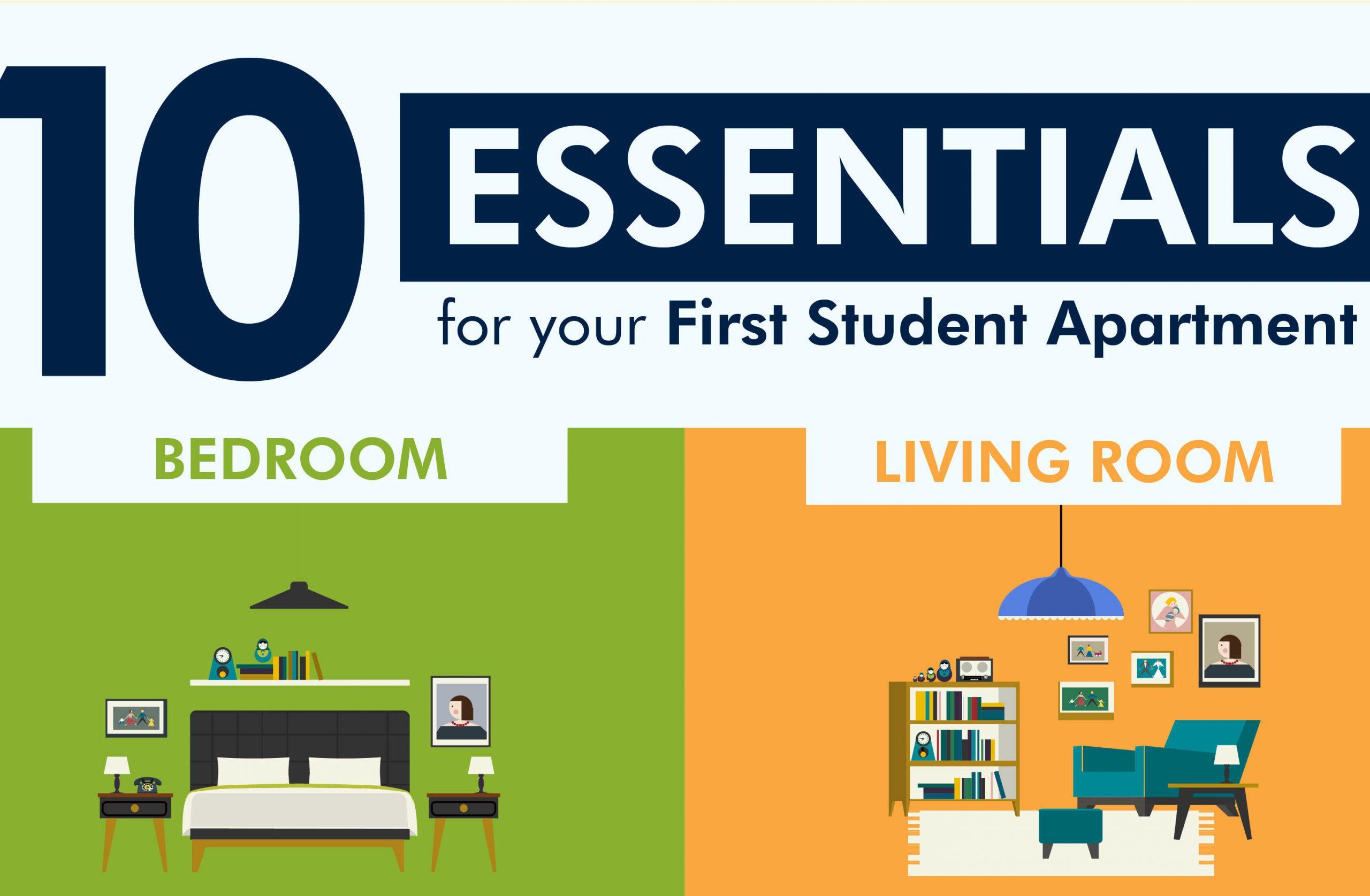 10 Essentials for Student Apt
