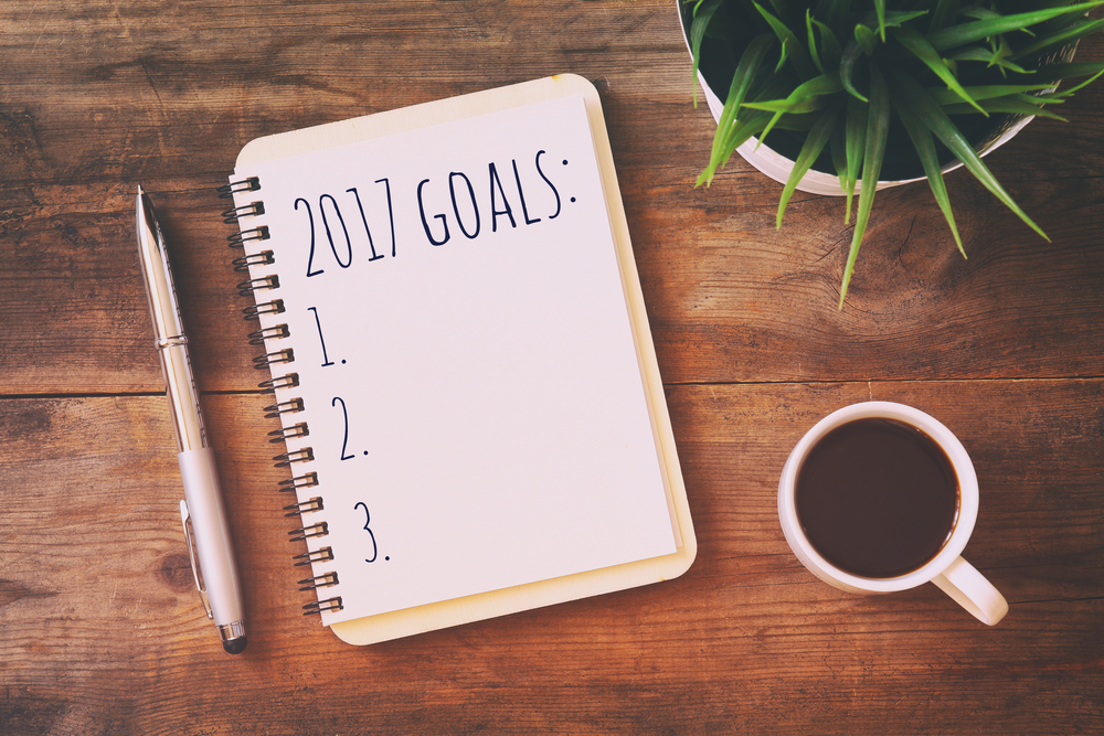 setting goals in  turn your resolutions into reality