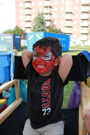 CLV Group Resident Appreciation BBQ Spiderman